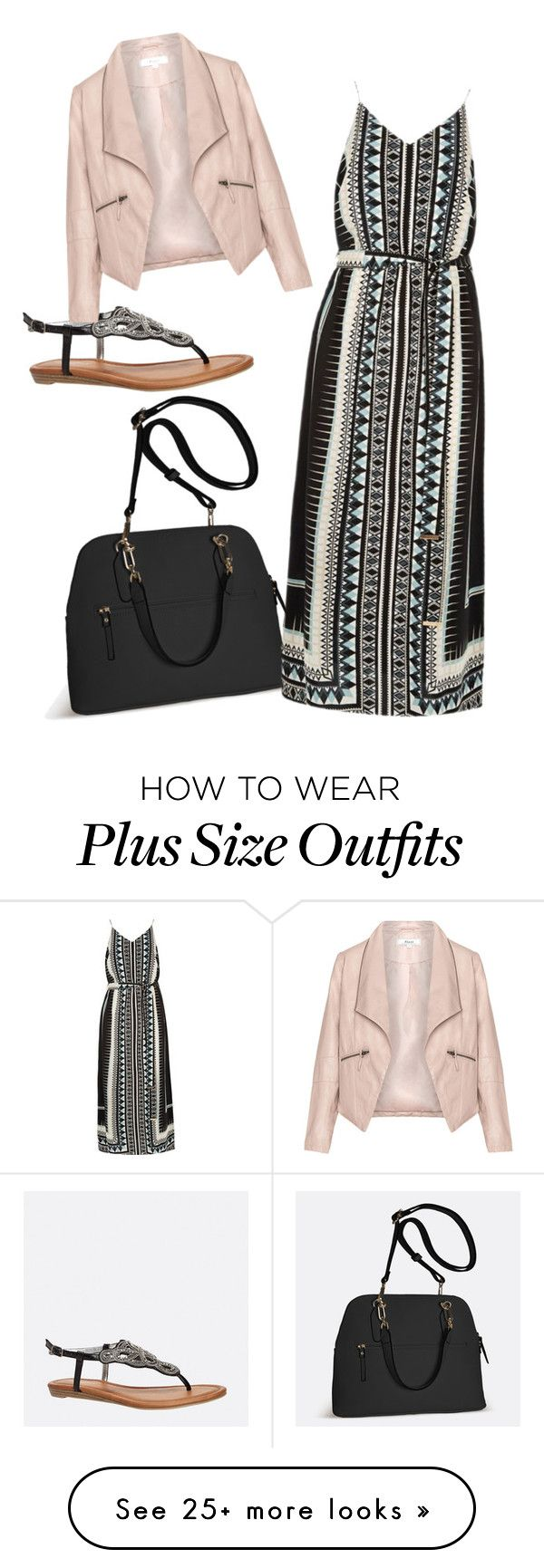 """Untitled #1732"" by samanthay7 on Polyvore featuring Avenue, River Island and Zizzi"