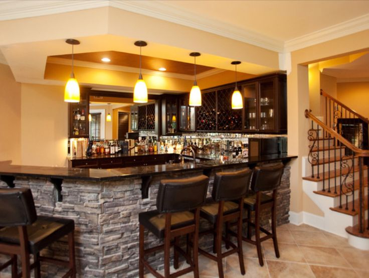 This is a beautiful basement bar.  MUST HAVE!!!