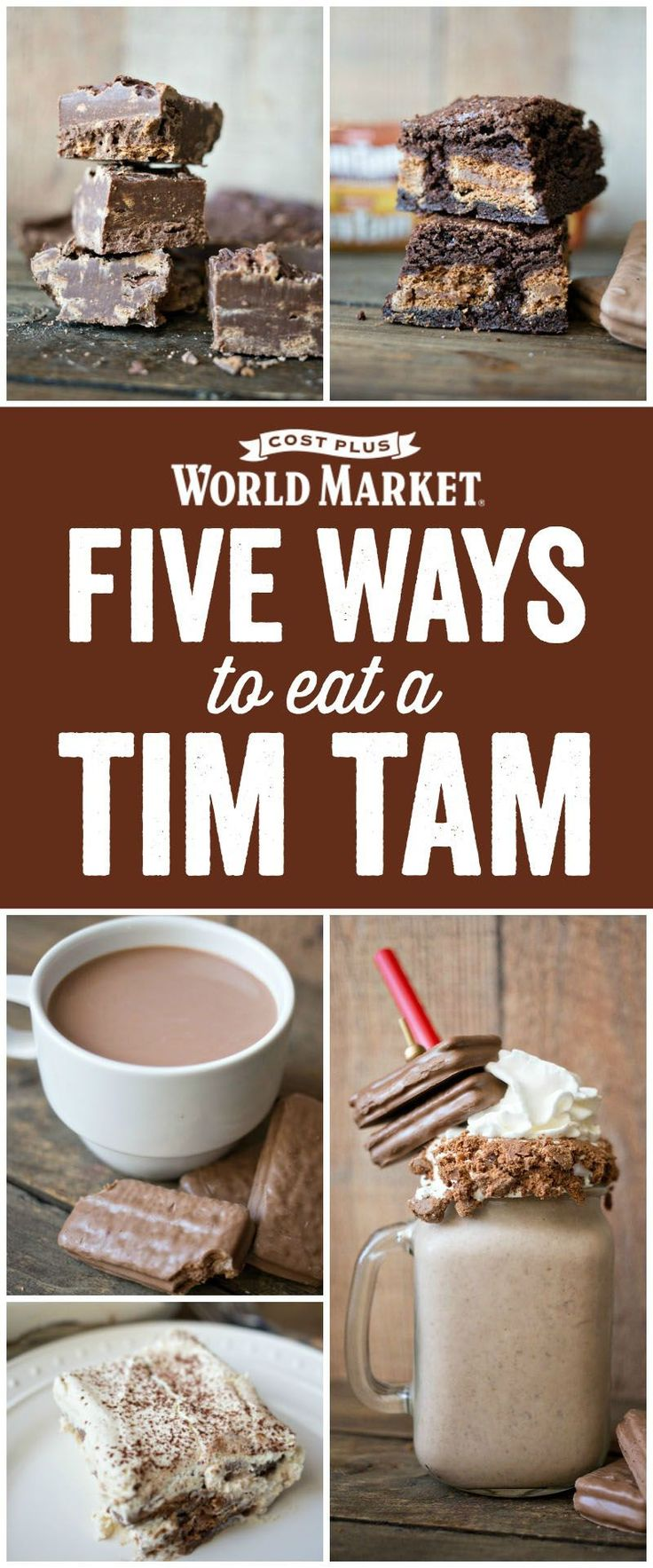 5 delicious Tim Tam Recipes by Kimberly of A Night Owl Blog created exclusively for Discover, a blog by World Market #DiscoverWorldMarket