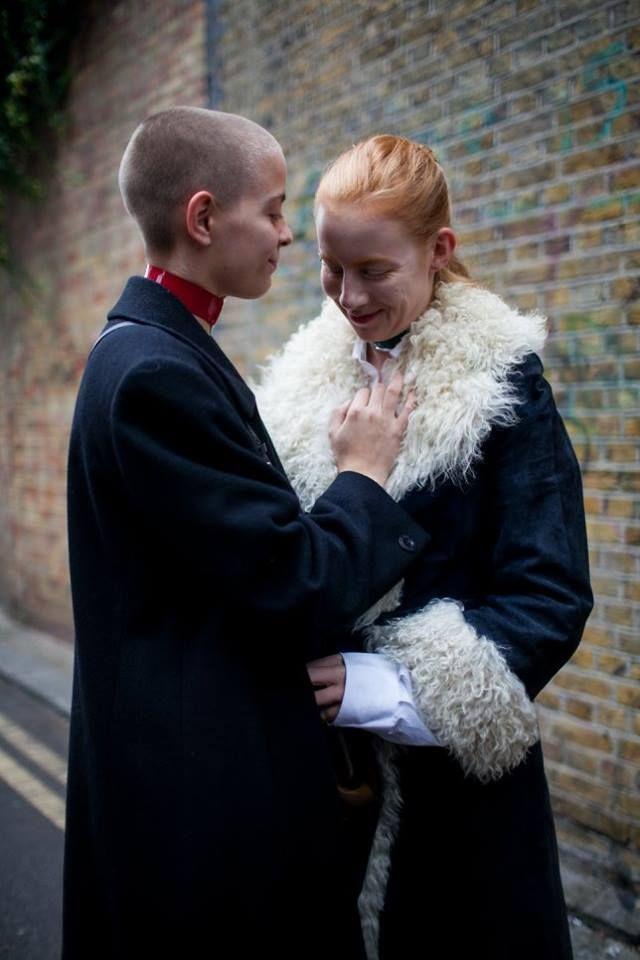 THEY ARE WEARING: LONDON Fashion Week by KUBA DABROWSKI for: www.wwd.com
