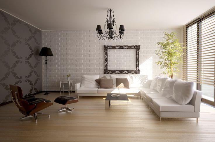 modern interior design ( 3D rendering )