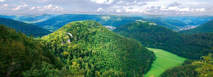 Bild: Das Biosphaerengebiet Schwäbische Alb