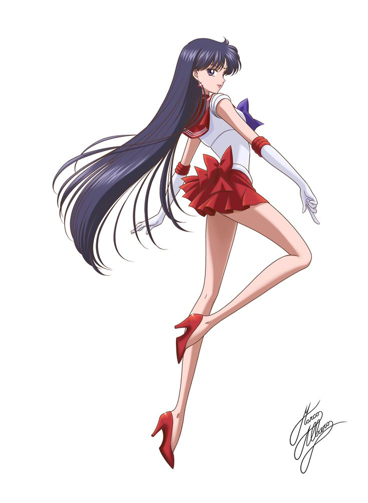 Sailor Mars By Marco Albiero
