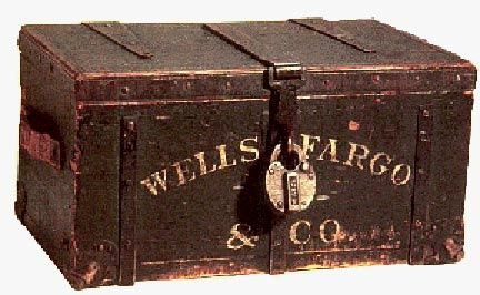american old west | Wells Fargo Coffee Table - Wells Fargo Strong Box - Wells Fargo Chest ...