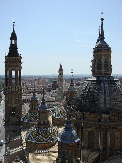 Basilica del Pilar in Zaragoza, Spain by socarrat.dvd, via Flickr