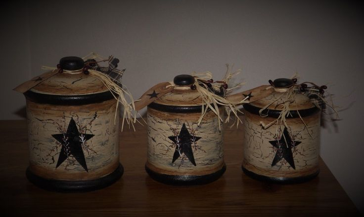 primitive kitchen canisters 17 best images about primitive canister sets on 14637
