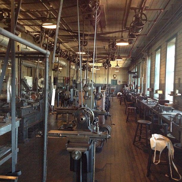 Thomas Edison's Machine Shop