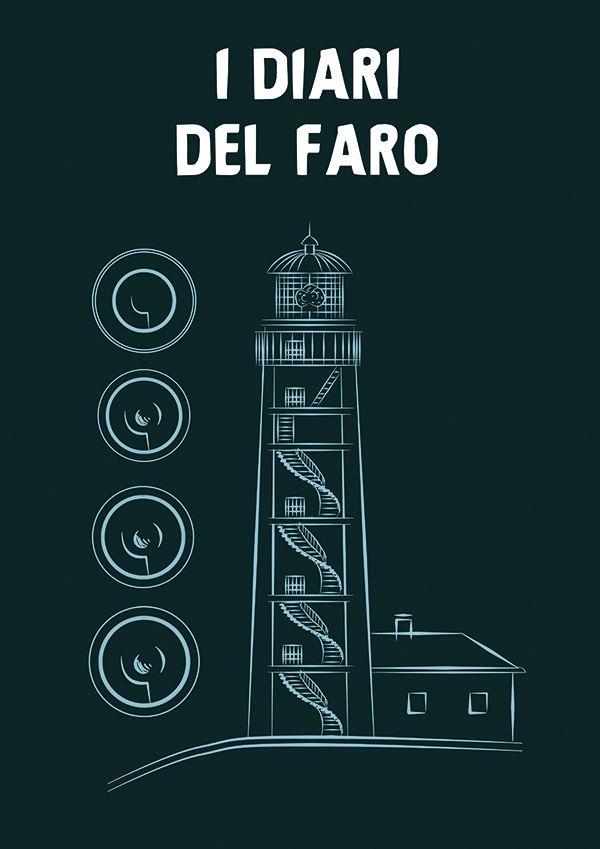 A comics adaptation of Stefania Trimboli's novella The Lighthouse Diaries (work in progress). Chapter I.