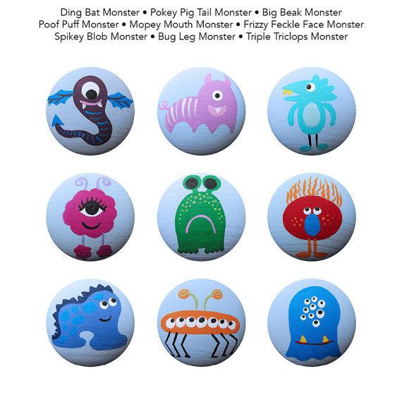 """STARTING AT $6 EACH Hand painted knobs - Available in several sizes and styles  These knobs, and all my functional and decorative items can be hand painted in any theme. There are many original designs in my shop, and I can customize them to coordinate with your colors, bedding, art, etc. See """"HOW TO PLACE YOUR ORDER"""" BELOW.  This link provides a brief description of all the products available and CURRENT PRODUCTION TIME: https://www.etsy.com/listing/152042916/hardwar..."""