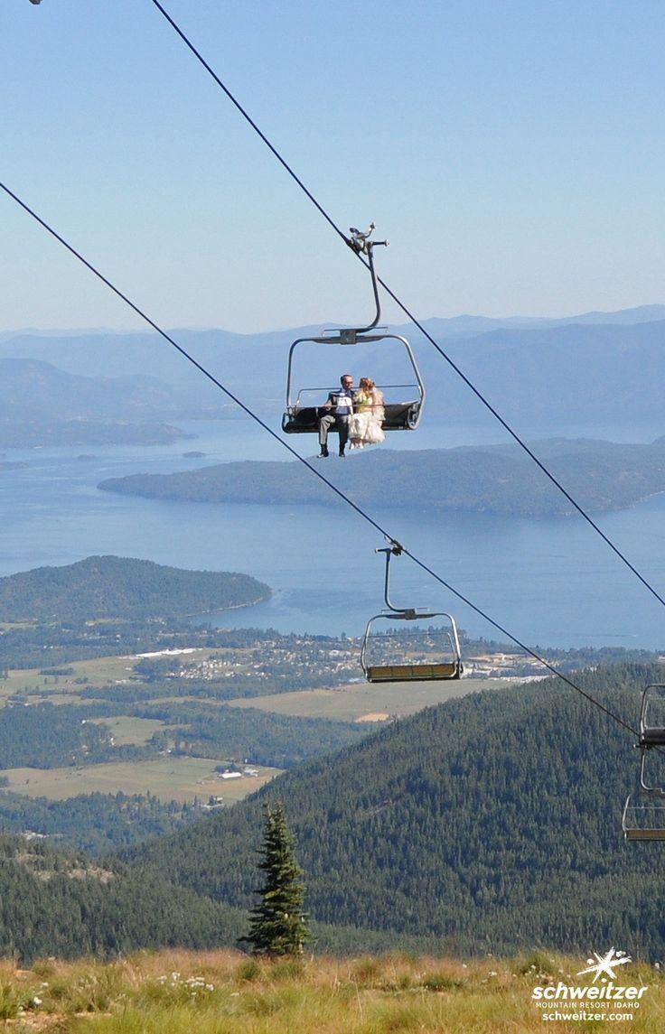 Amazing views! | Mountain top weddings. | Schweitzer Mountain Resort