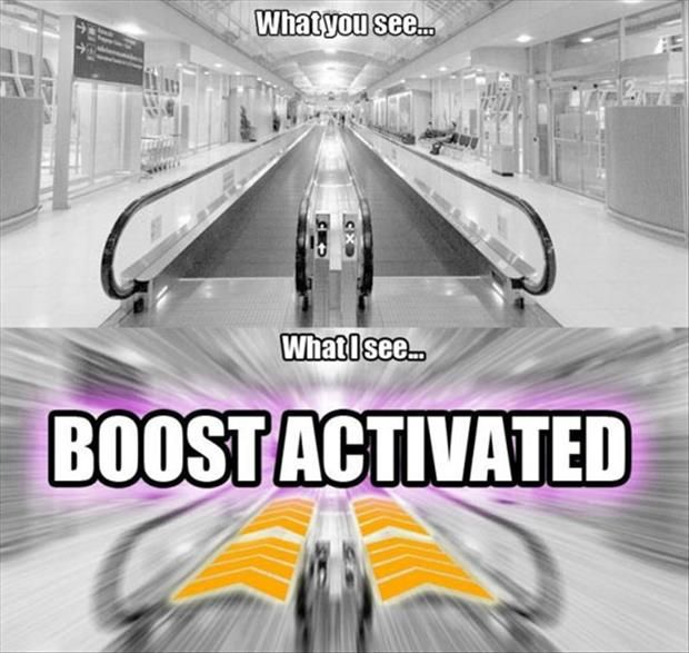Speed boost!