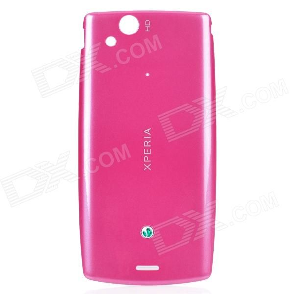 Material: ABS; Color: Deep pink; Qty: 1; Compatible Model: Sony Ericsson LT18i / X12 / LT15i; Features: Best replacement for your cracked battery cover; Packing List: 1 x Back cover case; http://j.mp/1peY6td