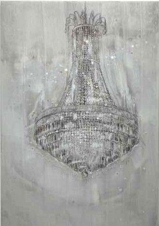 Michael Raedecker, Scheme 2011 (acrylic and thread on canvas)