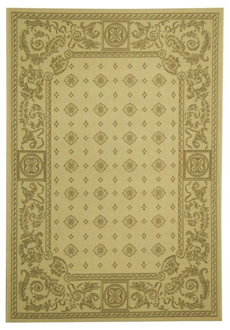 Safavieh Indoor/ Outdoor Beaches / Brown Rug