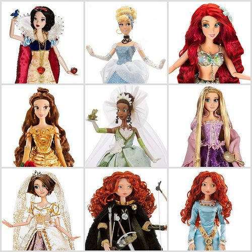 Disney Store Limited Edition Princess Dolls | All of the cur… | Flickr