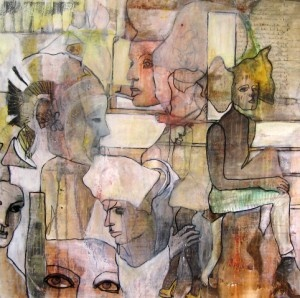 """By: Asa Kvissberg  """"As my main interest lies within the complexity and confusion of human relationships, from a feministic point of view, my artwork has mostly contained issues surrounding this topic."""""""