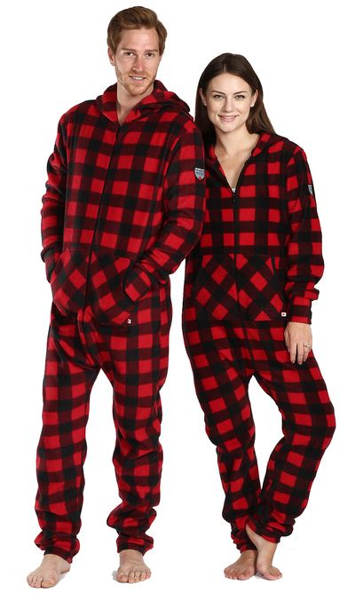 Looking for adult footed onesies? Check out Snug As A Bug's Canada Plaid Adult Footed Pajama. We specialize in warm comfy onesies & ship anywhere in Canada, US & internationally.