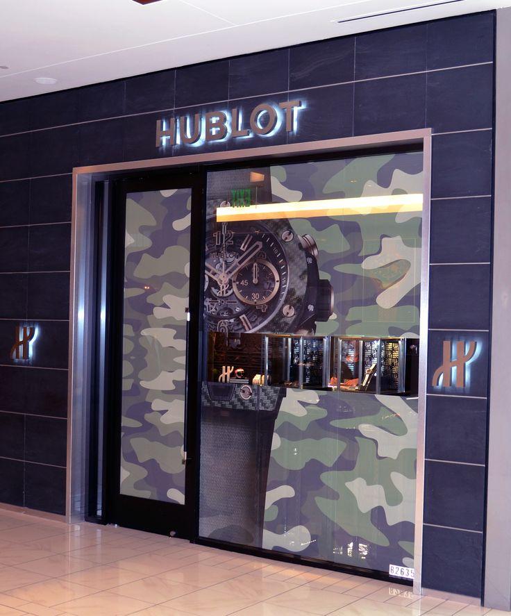 @hublot #StoreTakeOver #ItaliCamo #luxury #USA #houston