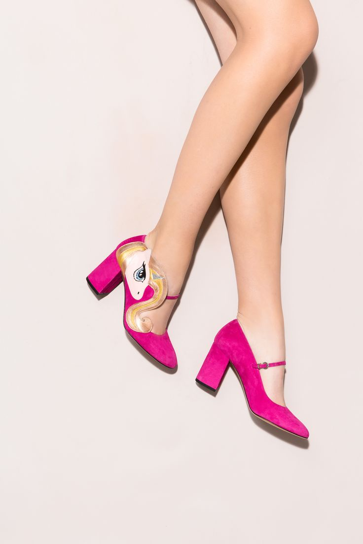 ooking for perfect shoes for a stroll somewhere over the rainbow? Sparks pumps will keep your feet firmly on the ground while your head is in the clouds! Minna Parikka's Sparks in pink.