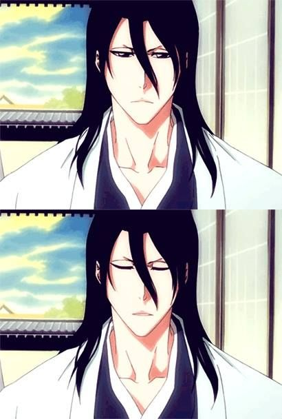 "Anime character whose name starts with ""B"" 1st: Byakuya Kuchiki from Bleach"