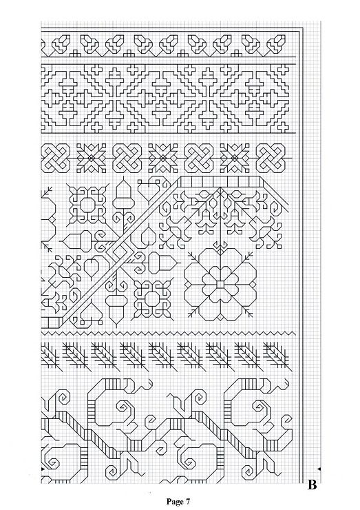 17 best images about blackwork on pinterest cross stitch for Farcical xword