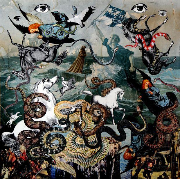 Mauricio Garrido, escultor y artista del collage (y mi amigo)