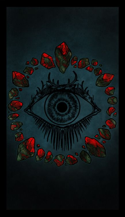 The backing for the WTNV Tarot Cards! I wanted to do something that utilizes elements of Night Vale without being distinctly Night Vale, and I feel like the Bloodstone Circles would be an excellent way to represent that, seeing as it is heavily...