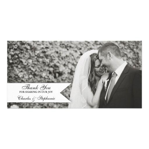 1605 best Photo Wedding Thank You Note images on Pinterest Photo