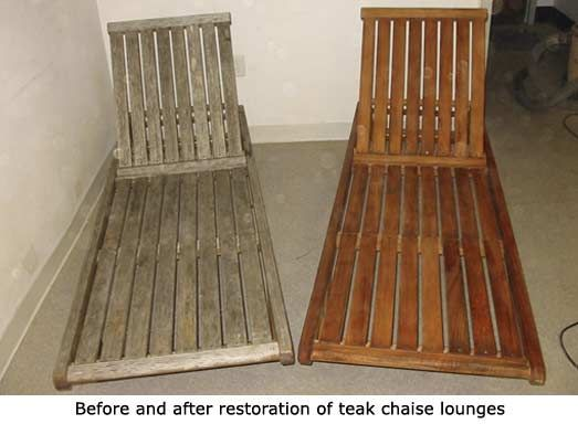 Refinish Teak Furniture   Outdoor Furniture Repair   Teak Restoration - Refinish Teak Furniture Outdoor Furniture Repair Teak