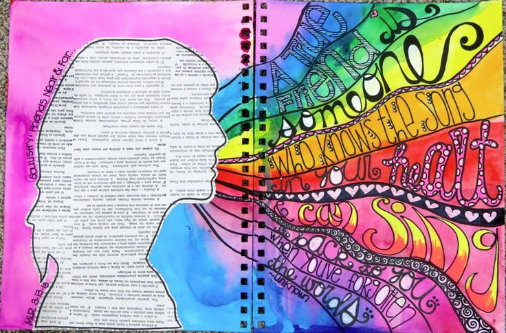 Art Journaling....... Michelle Lapoint Rydell