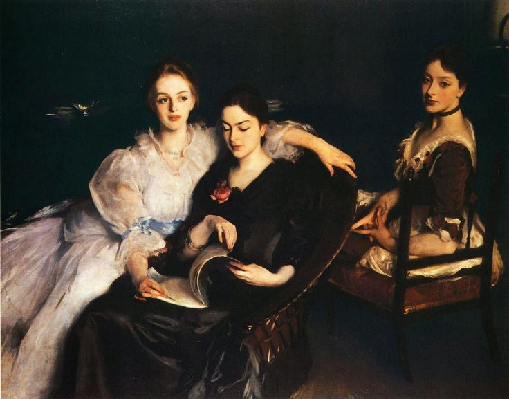 The Misses Vickers by John Singer Sargent (1884)