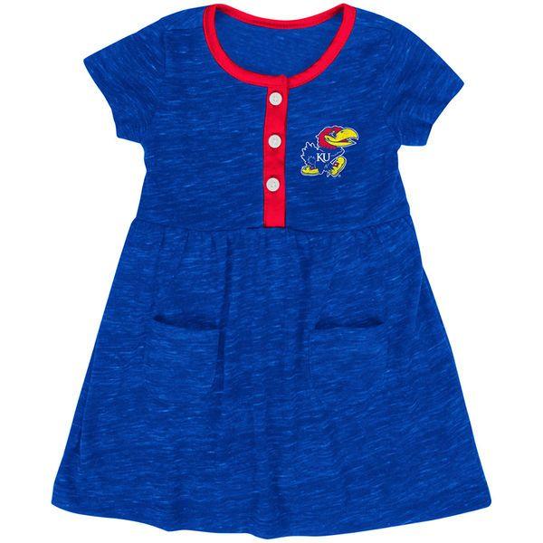 Kansas Jayhawks Colosseum Infant Girls Triple Jump Dress - Royal - $21.99
