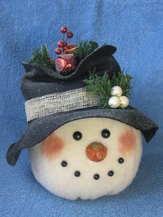 Snowman pattern ...  Frosty