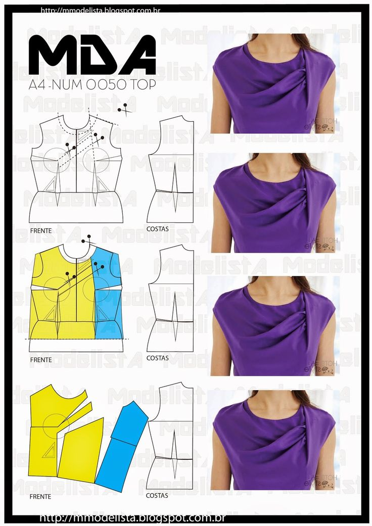 A manipulação de pences é um processo importante para a interpretação de modelagem, principalmente, de roupas femininas. Através do transp...