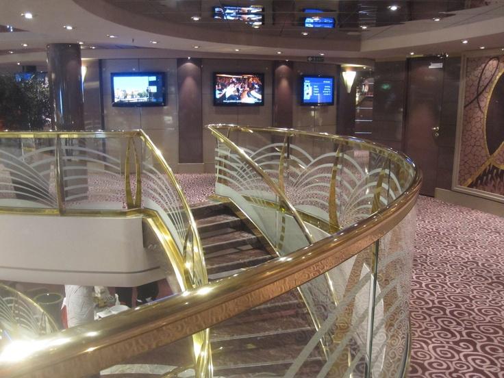 @msc_cruises_uk @msccruisesUSA #MSCMagnifica atrium. #cruise #travel