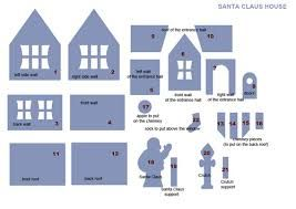 Image result for gingerbread house template printable