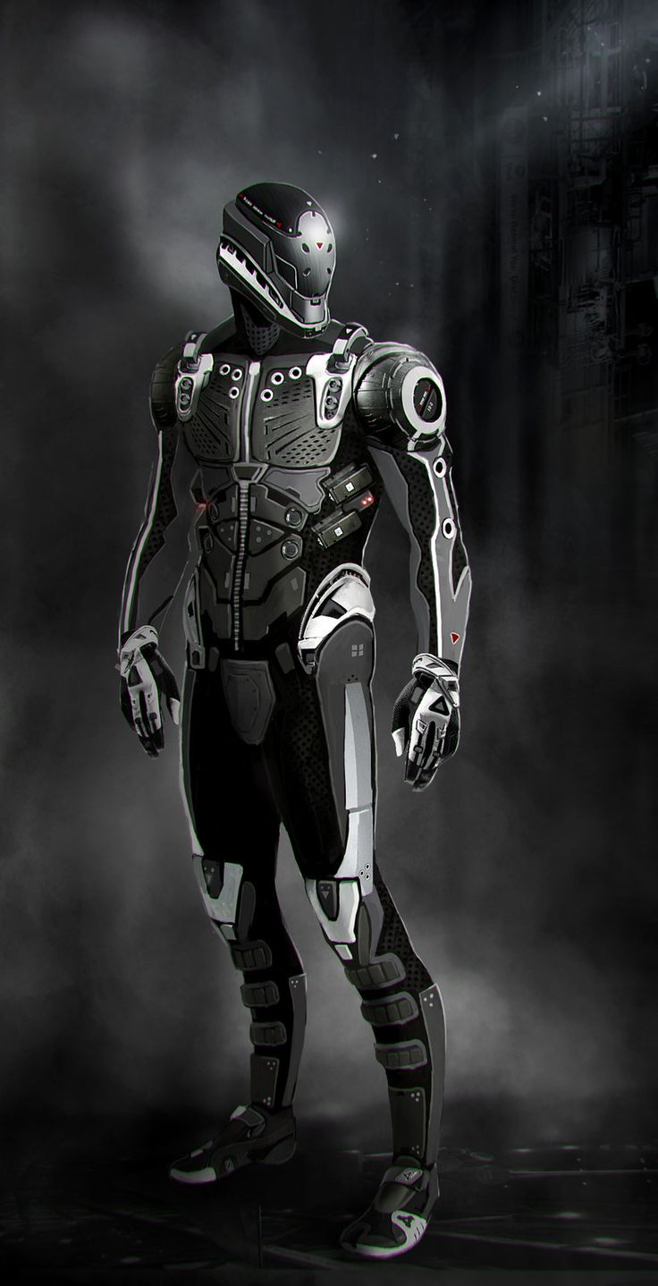 Futuristic Suit Of Armor Related Keywords - Futuristic ...