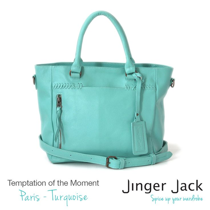 Temptation of the Moment. Jinger Jack PARIS in Turquoise! http://jingerjack.co.za/products-page/paris/