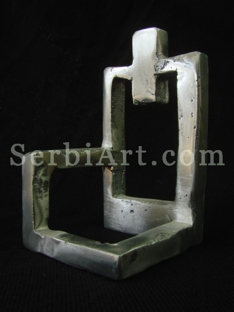 Marina Niciforovic - Alimnium Sculpture  Turkish Seat