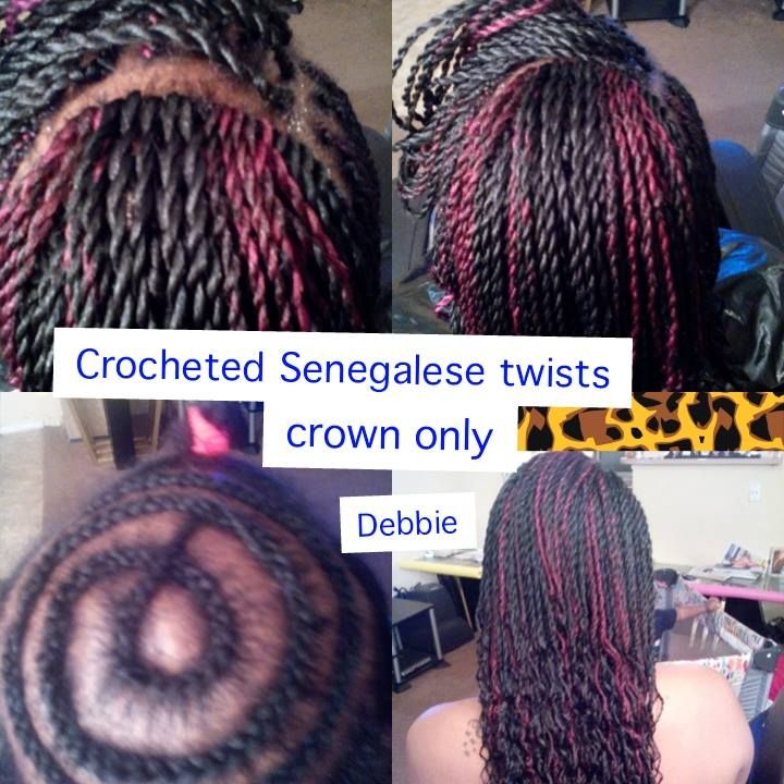 Crochet Senegalese Twists  CROCHET BRAIDS AND CROCHET TWISTS  Senegalese Twist Crochet Braids