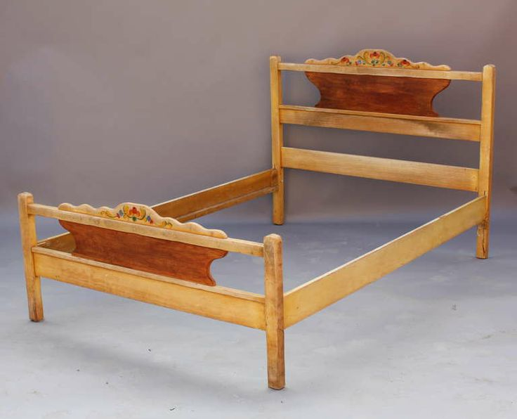 1930s Signed Monterey Period Double Bed | From A Unique Collection Of  Antique And Modern Beds
