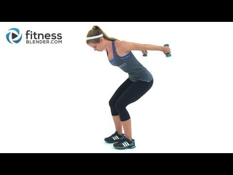 Toned, Lean Arms Workout -- Rhomboids, Shoulders, Bicep, Tricep, and Chest Workout