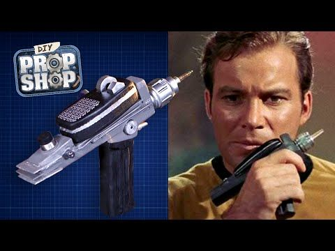 How to Build Your Own Version of a Phaser From Star Trek: The Original Series