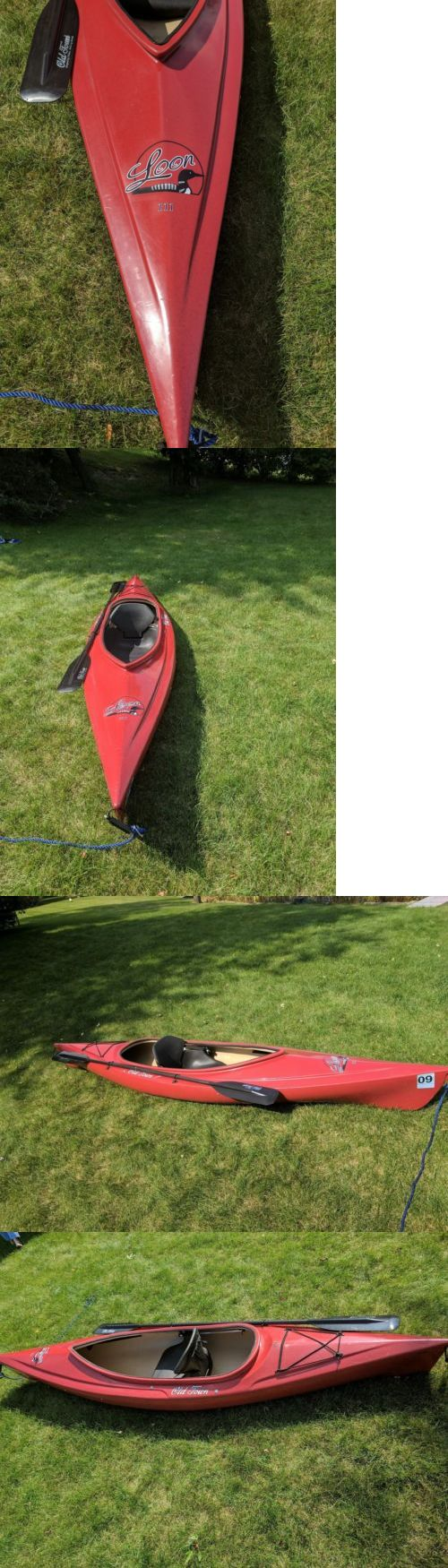 Kayaks 36122: Old Town Canoes And Kayaks Loon 111 Recreational Kayak Red, Gently Used -> BUY IT NOW ONLY: $500 on eBay!