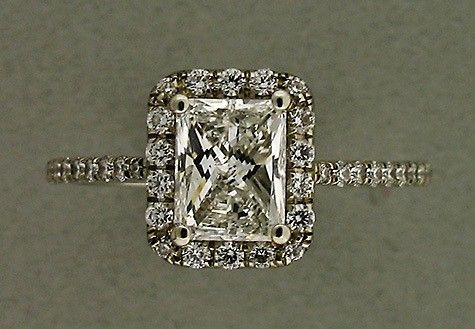 Antique engagement ring. Gorgeous.