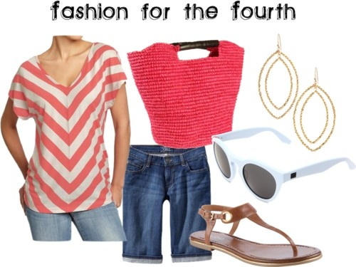 Casual 4th of July Fashion: Fashion Sets, Summer Fashion, Dresses Sets, July Fashion, Cute Outfits, Maxis Dresses, Casual 4Th, 4Th Of July, Fashion Bites