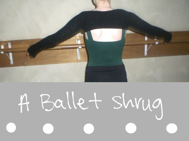 : Ballet Shrug FREE Pattern on ravelry . Looks like a no nonsense , easy pattern by Karis G.
