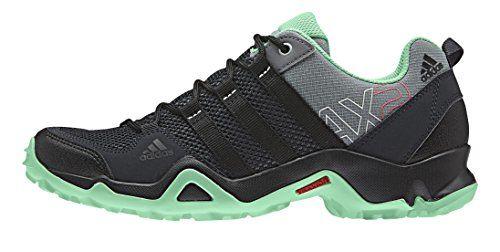 adidas AX2, Damen Trekking- & Wanderhalbschuhe, Grau (Vista Grey S15/Core Black/Green Glow S16), 41 1/3 EU (7.5 Damen UK) - http://on-line-kaufen.de/adidas/41-1-3-adidas-ax2-damen-trekking-wanderhalbschuhe