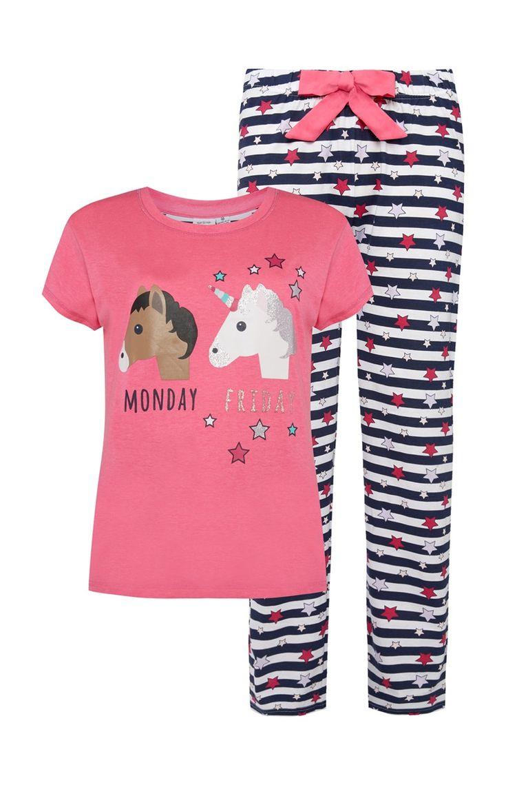 Pyjamaset Eenhoorn