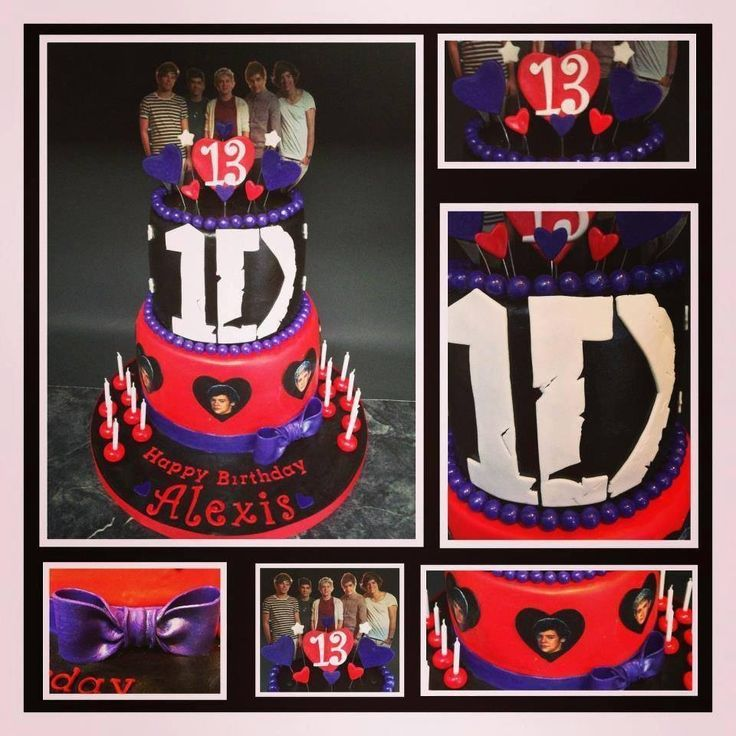 9 Best Images About 13th Birthday Cakes, Cupcakes, & Party